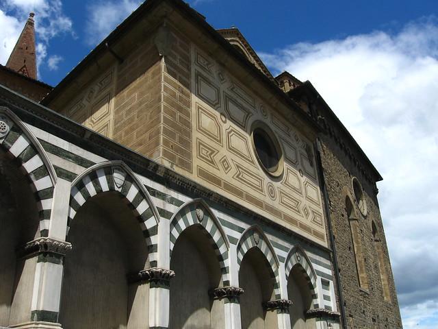教会の壁画模様のフリー写真素材