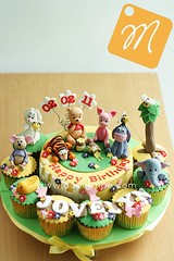 Winnie the Pooh Cake & Cupcakes - Jovelyn