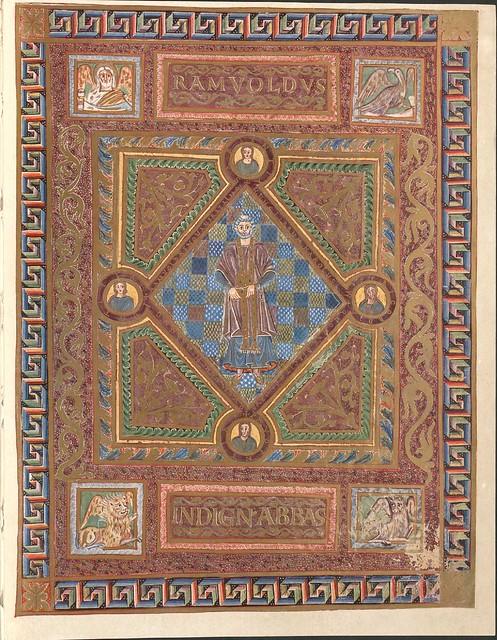 Evangeliar (Codex Aureus) - BSB Clm 14000