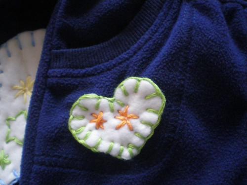 Detail - pocket