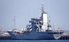 RHEIN (A 513) (arnekiel) Tags: marine tender warship auxiliary germannavy elbeclass type404