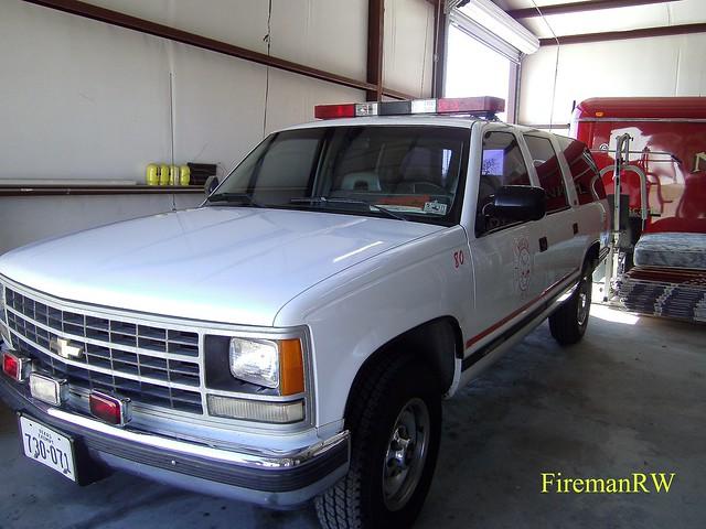 chevrolet suburban firetruck
