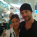 Jamiroquai's Jason Kay at Caviar House & Prunier (Sydney International Airport)