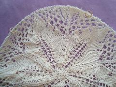 Fougères Givrées de la Forêt Enchantée (lilredwitch9) Tags: vintage knitting lace wip cotton german 20 doily royale 201 niebling dsc01478 frostedferns einchenlaub 201102095