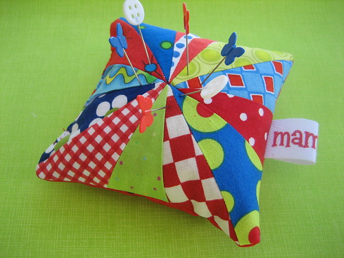 Circus Time Pincushion