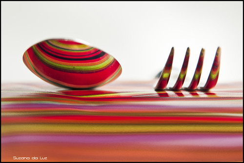talheres coloridos