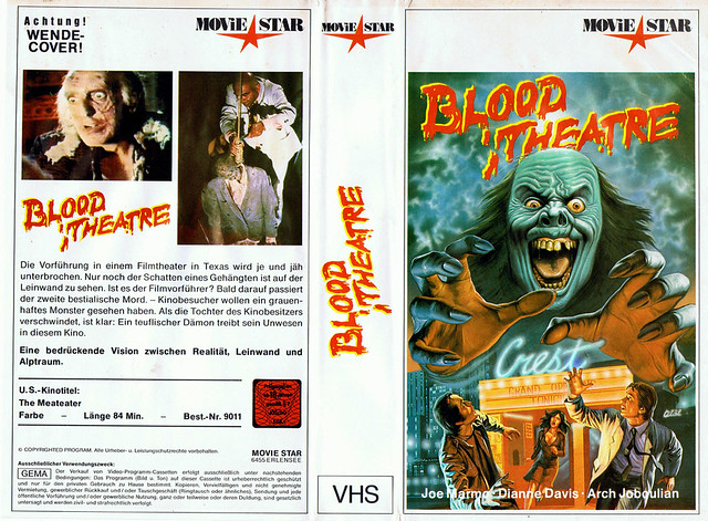 Blood Theater (VHS Box Art)