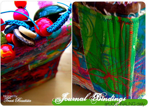 beads, macrame & stitched bindings