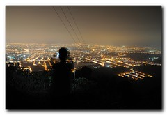 Ipoh Night (Evo55) Tags: urban landscape golden nikon cityscape nightscene ipoh d90 怡保 menglembu 30secexposuretime 升旗山 kledanghill
