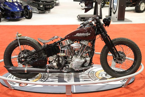 Warren Heir Jr S Cycle Products 1953 Harley Davidson Fl