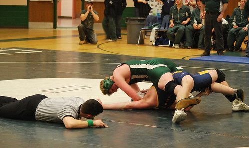 Matthew gets the pin