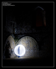 Orb (Craigo // InTheBagPhotos) Tags: light church windmill abbey bulb night 35mm canon dark painting long exposure f14 ruin smith craig wireless remote manfrotto 40d galokin