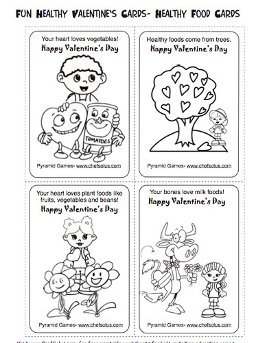 Valentine's Day Cards for Kids to Color. Free Valentine's Day Cards for kids