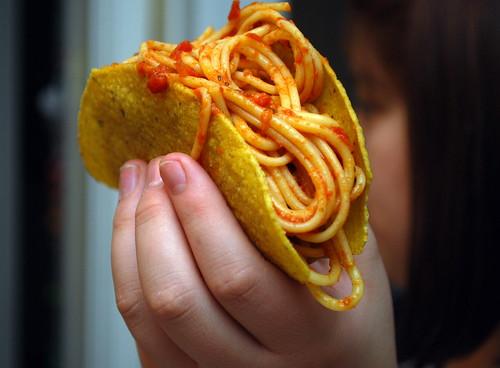 Behold the Spaghetti Taco