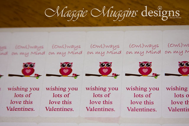 Valentines Printable Sticker