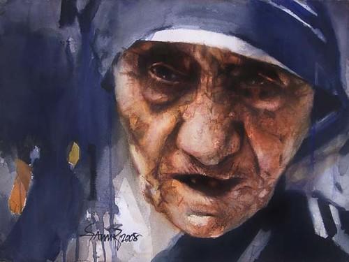 samir mondal, mother theresa