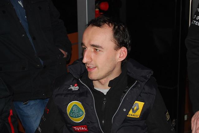 Robert kubica Team Lotus Renault - Valencia 2011