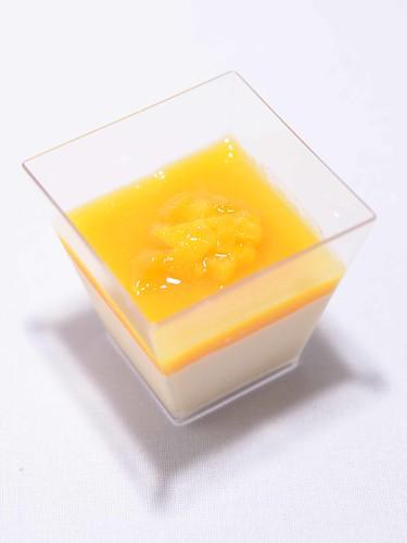 Mango Panna Cotta - $2.80