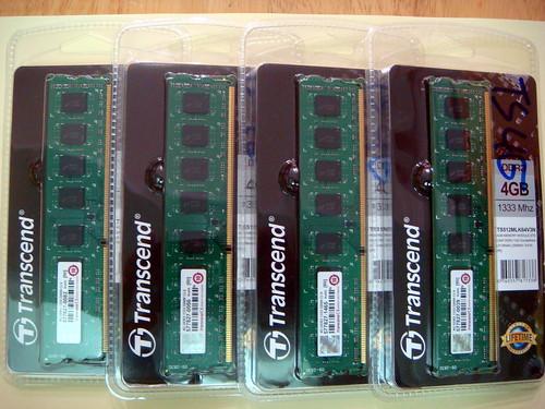 Transcend DDR3-1333 4GBx4