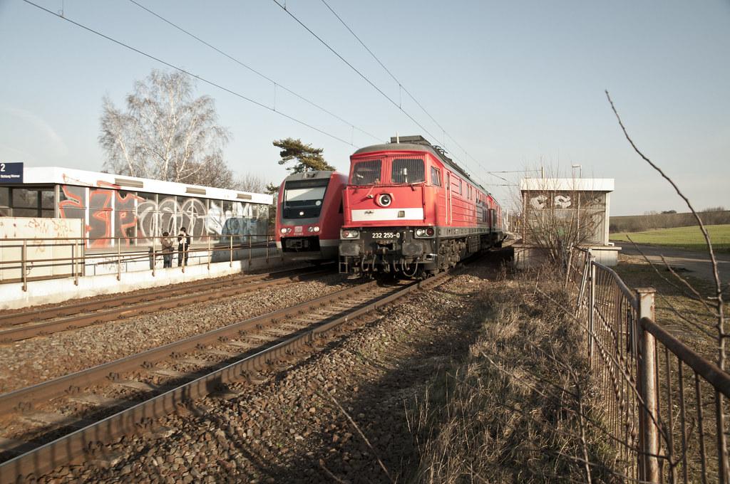 Der Castor kommt durch Thüringen