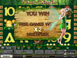 free Fairy Magic slot free spins