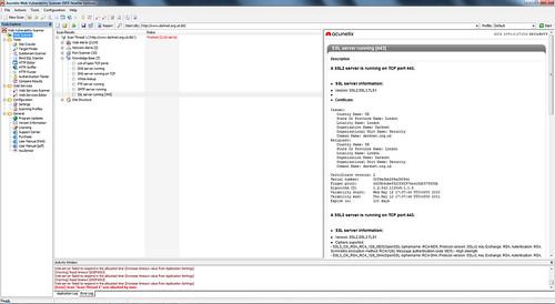 Acunetix WVS (Web Vulnerability Scanner) 7