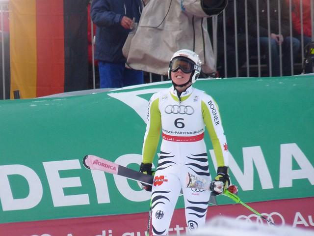Viktoria Rebensburg nach dem Riesenslalom