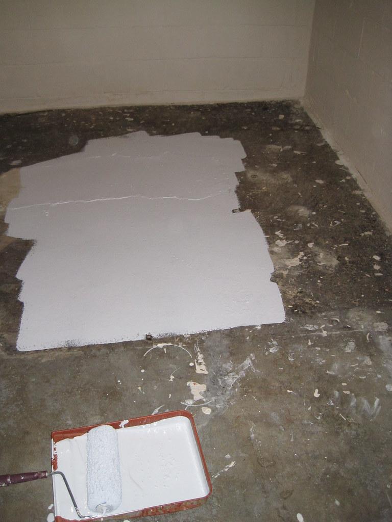 basement drylock floorpaint floorpainting home remodel renovate