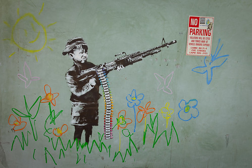 Banksy - Crayola Shooter