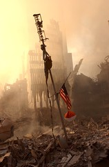 Antenna World Trade Center (NeverForget 911) Tags: world new york 2001 city nyc roof ny news by airplane was photo andrea attack ground center it september wtc 13 trade zero antenna alert sits rubble amidst fema originally the firmly booher