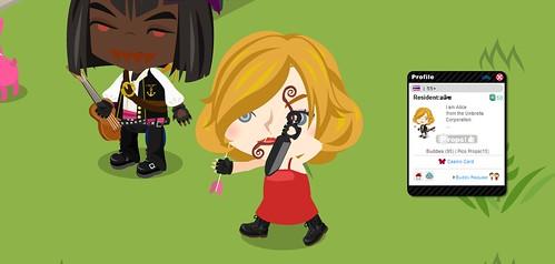 Celebrity Sightings: Alice from Resident Evil