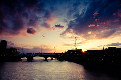 Sunset over London (petecarr) Tags: city sunset london architecture