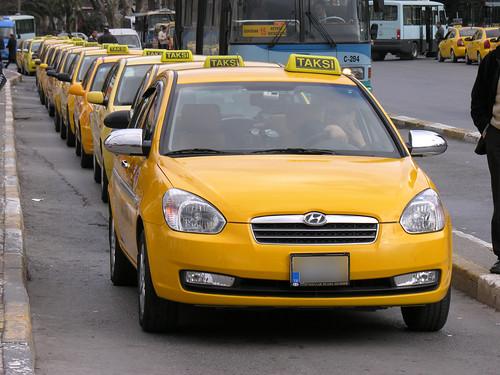 Taxi invázió