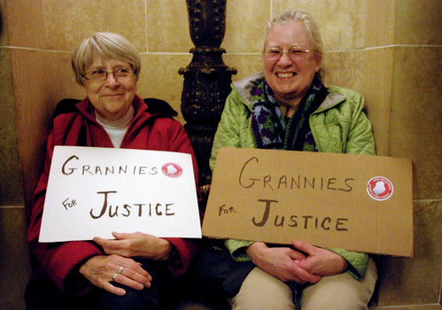 Grannies for Justice!