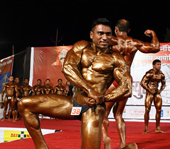 Mr. Muscular 2011 (Raju Bist) Tags: muscular bodybuilding health thane fitness