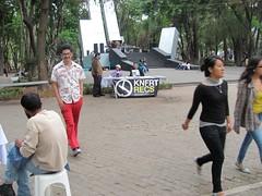 "Konfort Stand at the 2011 ""Ácido al Parque?"" festival"