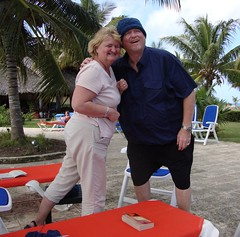 Goofy and the Blonde (Hear and Their) Tags: goofy hotel cuba resort blonde tuque touque atlantico guardalavaca