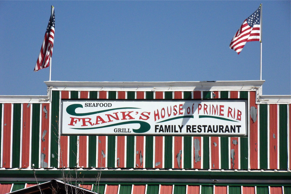 Frank's Family Restaurant Sign / Palmetto, Georgia