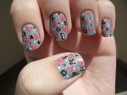 Nail Art - Love is in the air by DéboraWernke