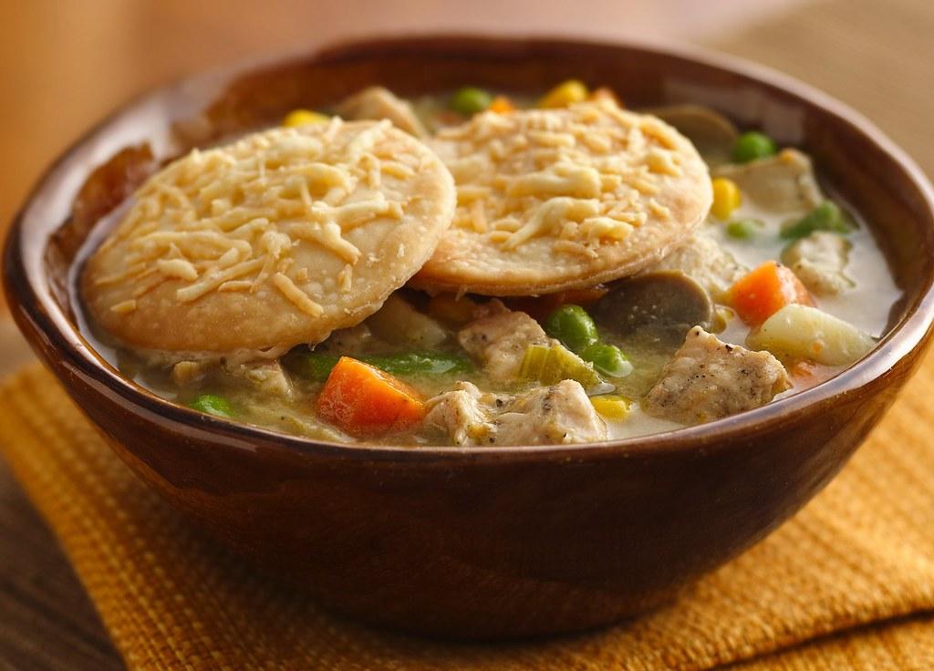 Deep-Dish Turkey Pot Pie Recipe