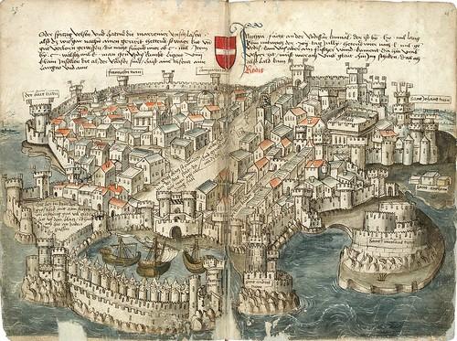 005-Rodas-Konrad von Grünenberg- Beschreibung der Reise von Konstanz nach Jerusalem 1487- © 2010 Badische Landesbibliothek