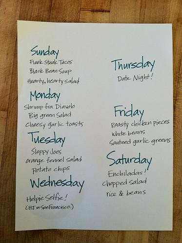 Meal Plan Feb 21 - 28