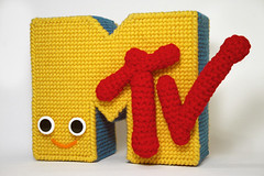 I want my . . . (Bnice2mice) Tags: logo tv handmade crochet needlepoint mtv musictelevision