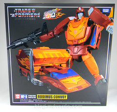 Transformers Hot Rod Masterpiece - caja