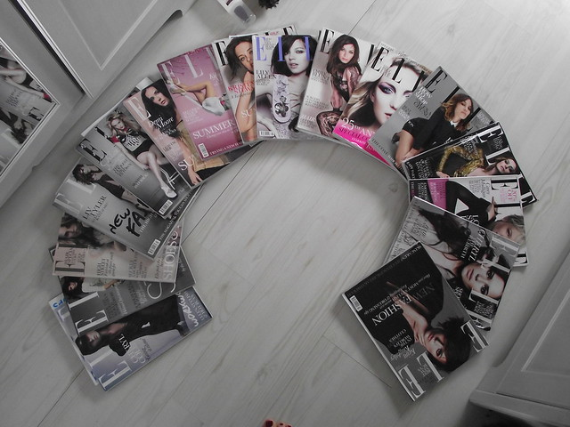 Elle Magazine Collection, Nov 2009-March 2011. by Daisy Camille.