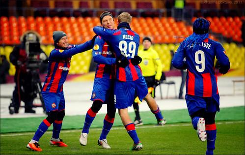 Sergey Ignashevich goal celebration