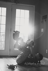 {my sister} (jessicadeanephotography) Tags: bw photography sister sunflare