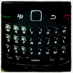 55/365 - My New Blackberry (And It Sucks)
