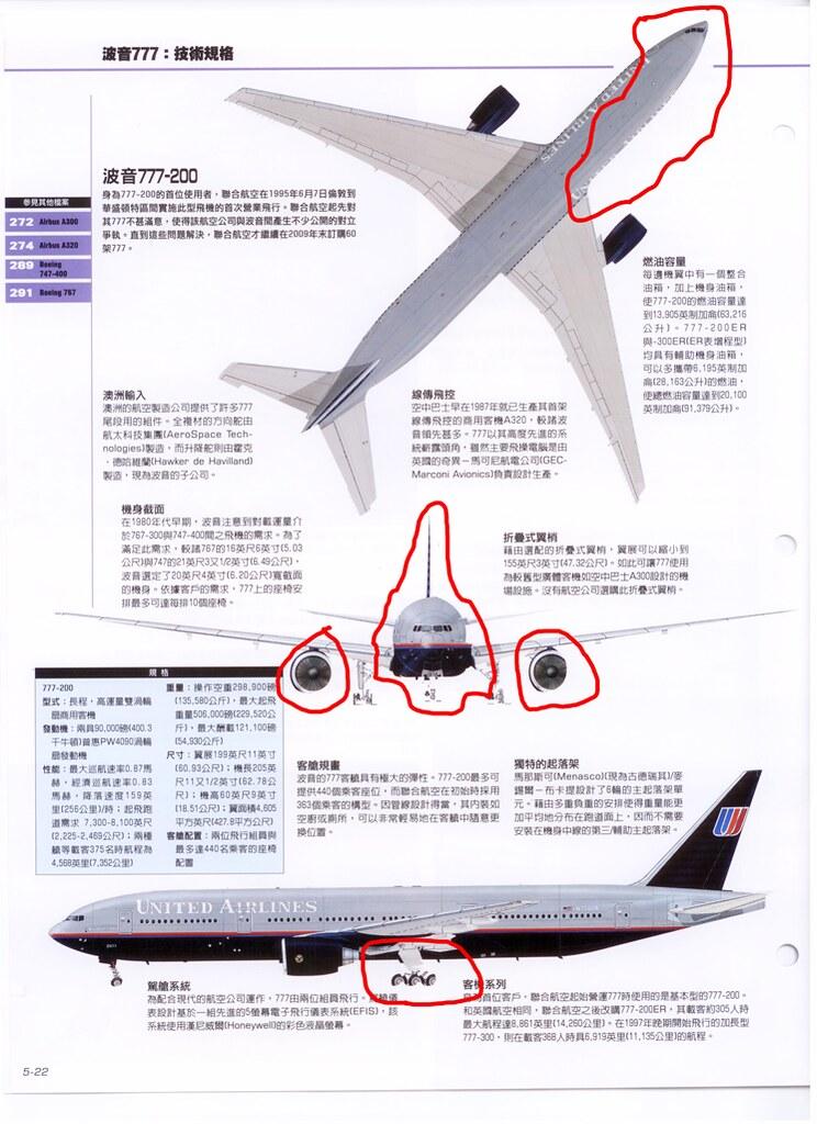 世界飛機 vol5 p22 印刷錯誤