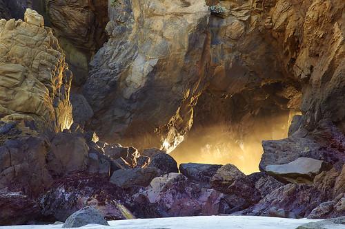 light red usa seascape rock landscape sand sandstone... (Photo: PatrickSmithPhotography on Flickr)